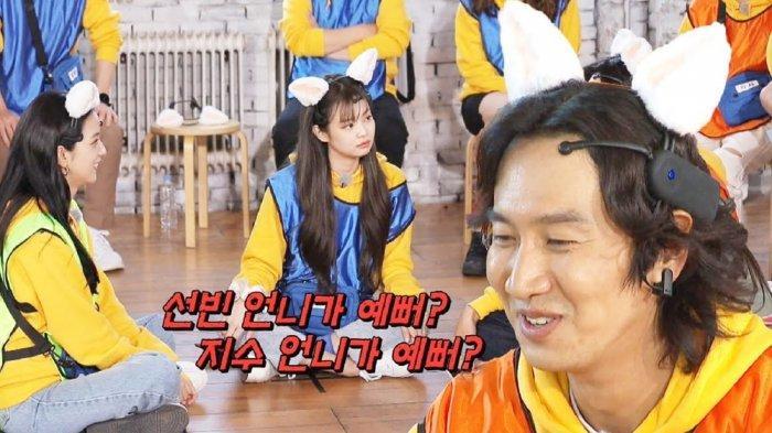 Lee Kwang Soo dalam salah satu episode di Running Man
