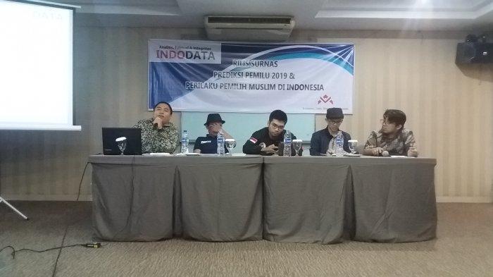 Hasil Survei Terbaru Indodata: Jokowi-Ma'ruf 54,8 Persen, Prabowo-Sandi 32,5 Persen