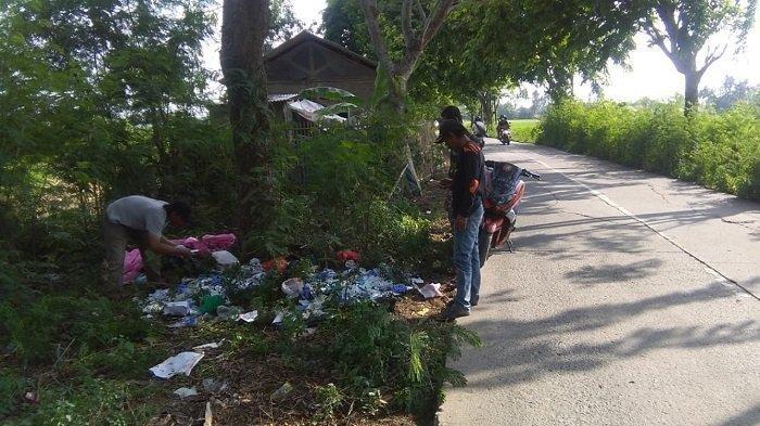Diduga Sengaja Dibuang,Bukti Ini Jadi Petunjuk Polisi Ungkap 3 Karung Limbah Medis Covid di Sukatani