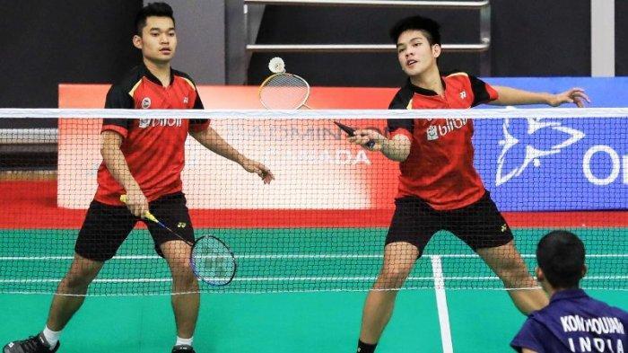 Hasil Thailand Open 2021, Ganda Putra Malaysia Hentikan Kejutan Ganda Putra Indonesia Leo/Daniel