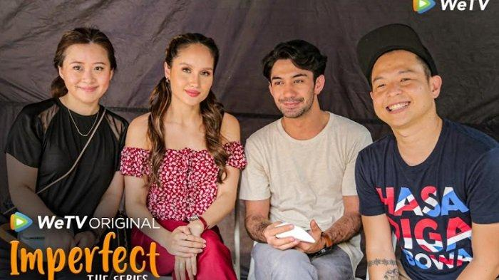 Cinta Luara dan Reza Rahadian Siap Adu Akting di Imperfect Series Season 2