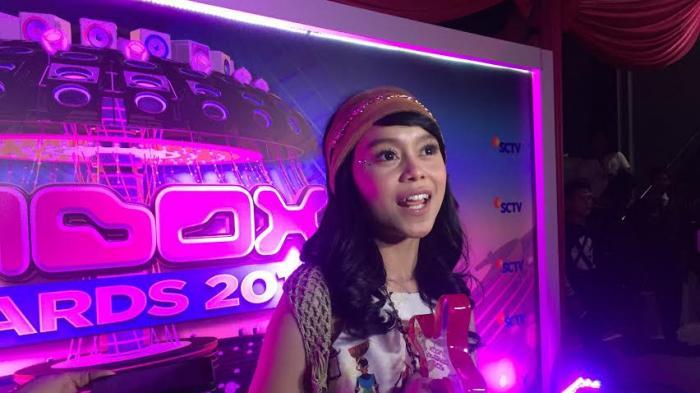 Lesti D'Academy ditemui di Studio 6 Emtek City, Daan Mogot, Jakarta Barat, Rabu (19/10/2016).