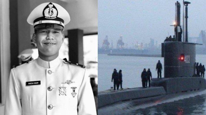 Keponakan Menteri Pertahanan, Prabowo Subianto, Letda Laut (T) Rhesa Tri Sigar yang gugur sebagai salah satu awak KRI Nanggala 402.