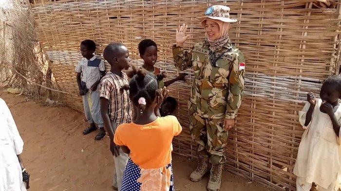 Suka Duka Letkol Revilla Oulina Bertugas di Sudan, Suka Ikut ke Pasar Saat Hari Jumat