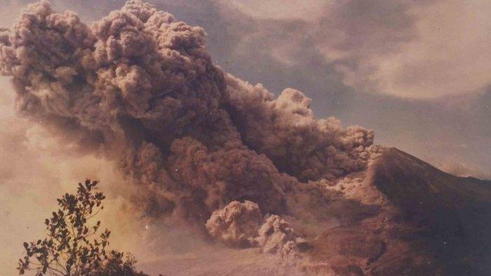 Letusan Gunung Merapi 22 November 1994 Lava Panas Mengarah ke Lokasi Hajatan, Menewaskan 64 Orang
