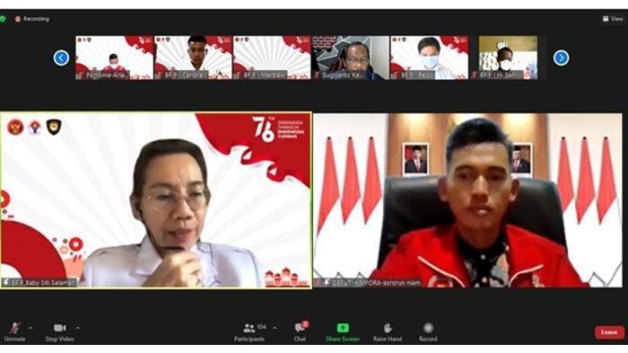 Paskibraka Dari 34 Provinsi Sudah Mulai Jalani Latihan di Lapangan PPPON Kemenpora Cibubur