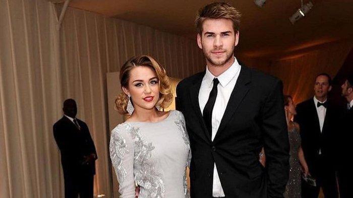 Video momen keseruan pernikahan Miley Cyrus dan Liam Hemsworth