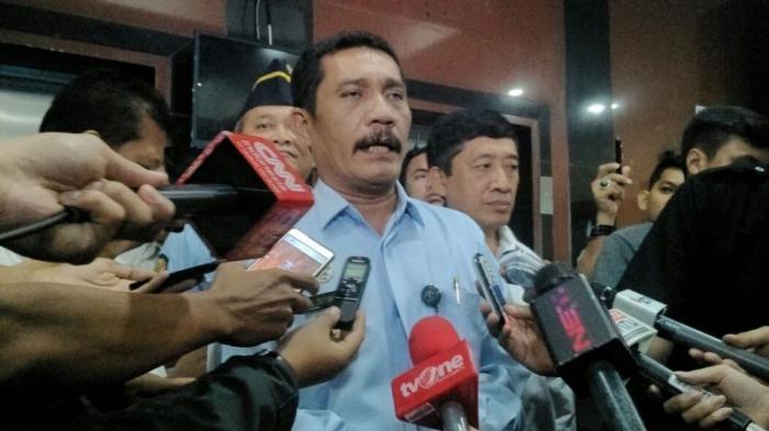 Mantan Kalapas Nusakambangan Diperiksa BNN 2,5 Jam