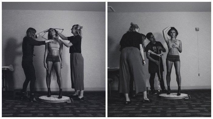 Keseruan Agnes Mo Jalani Pengukuran Tubuh oleh Tim Madame Tussauds di Los Angeles