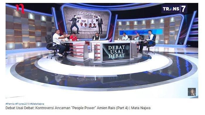 Said Didu Kritik Rekam Jejak Jokowi, Faldo Maldini Tertawa, Jansen Sitindaon Pilih Baca Catatannya