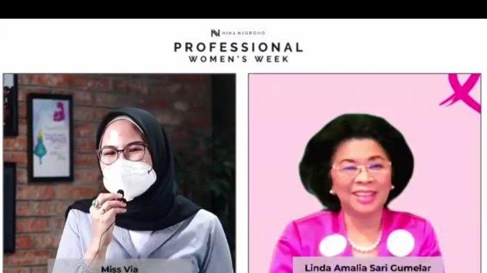 Linda Amalia Sari Gumelar: Menjadi Perempuan Itu Harus Tangguh dan Mandiri