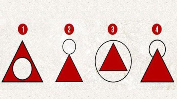 Buatlah Lingkaran di Atas Segitiga! Hasil Gambarmu Mampu Menunjukkan Kepribadianmu