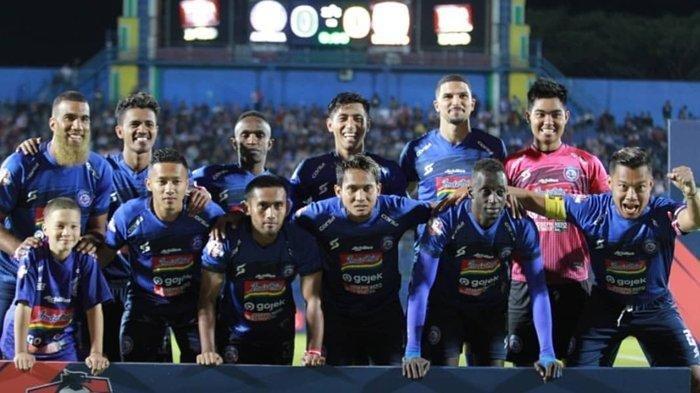 Link Live Streaming Arema FC VS PSS Sleman, Tanpa Sejumlah Pilar, Tim Lawan Waspadai Kebangkitan