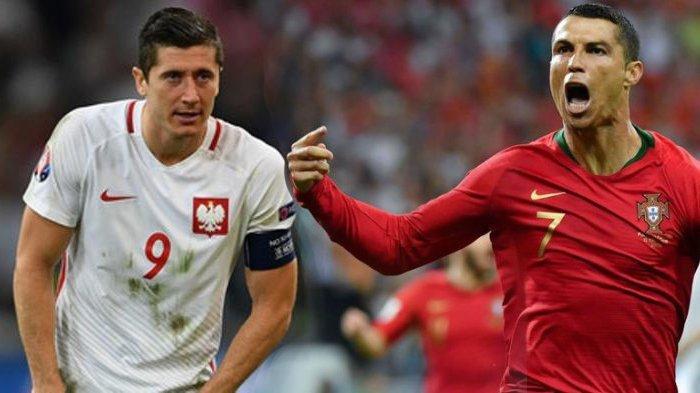 Tepikan Cristiano Ronaldo, Timnas Portugal Menang Meyakinkan Atas Polandia