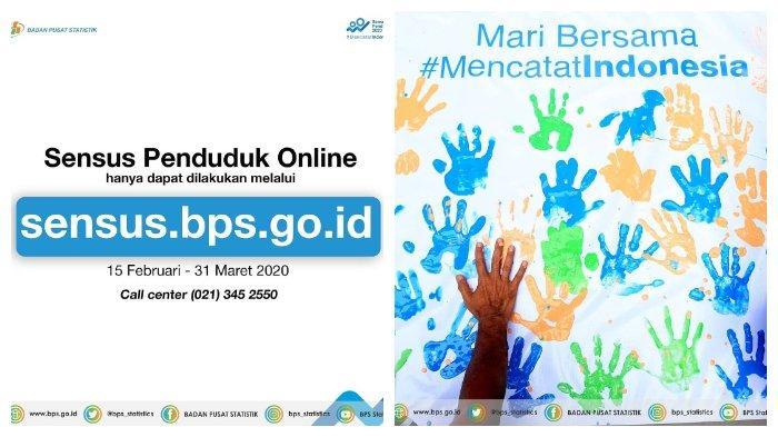 LOGIN sensus.bps.go.id untuk Sensus Penduduk Online, Simak Cara Mudahnya di Sini, Hari Terakhir!