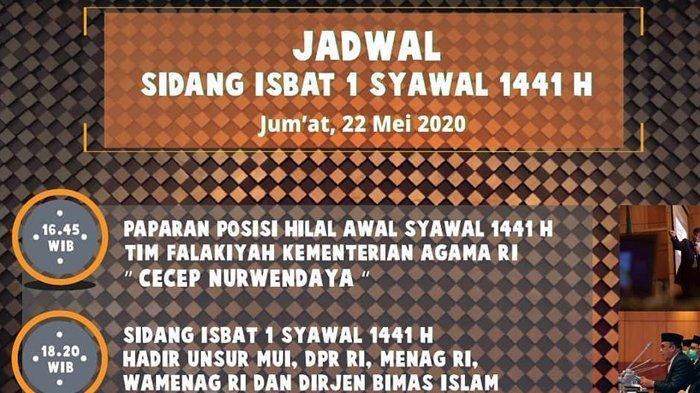Link Streaming Online Sidang Isbat Penetapan Idul Fitri 2020 atau Awal Syawal 1441 H (instagram/kemenag.ri)