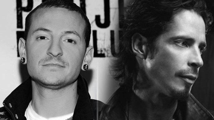 Vokalis Linkin Park, Chester Bennington dan Chris Cornell