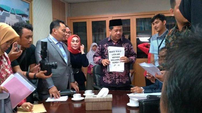 Sejumlah Keluarga Korban Pesawat Lion Air PK-LQP Mengadu Ke DPR