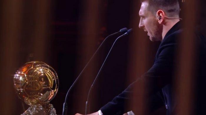Lionel Messi rebut tropi Ballon d OR 2019