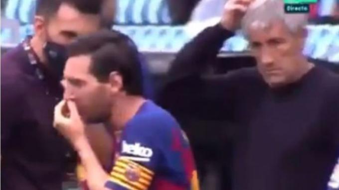 Hubungan Lionel Messi dan Pelatih Barcelona Tak Akur, Benarkah?