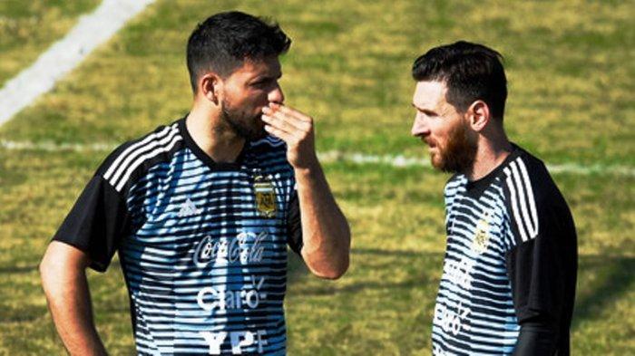 Sergio Aguero Sudah Bersedia ke Barcelona, Main Bareng Lionel Messi Jika Syarat Ini Terpenuhi