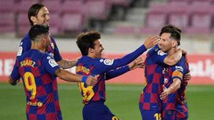 Barcelona vs Atletico Madrid: Lionel Messi Sukses Ciptakan Gol ke-700