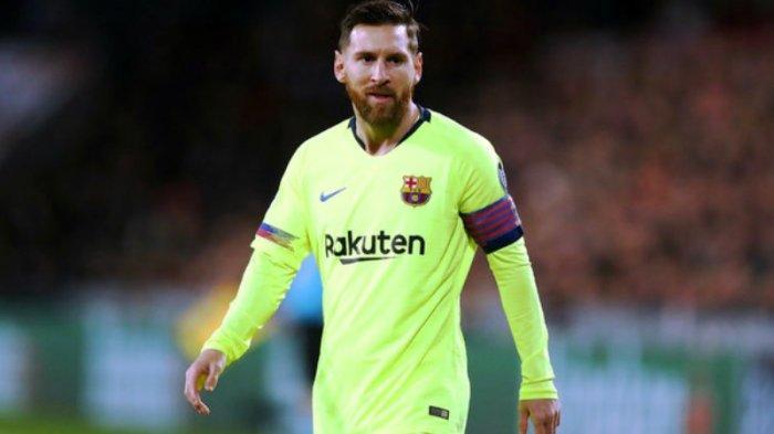 Lionel Messi tiga gol dua assist saat Barcelona ladeni tuan rumah Levante