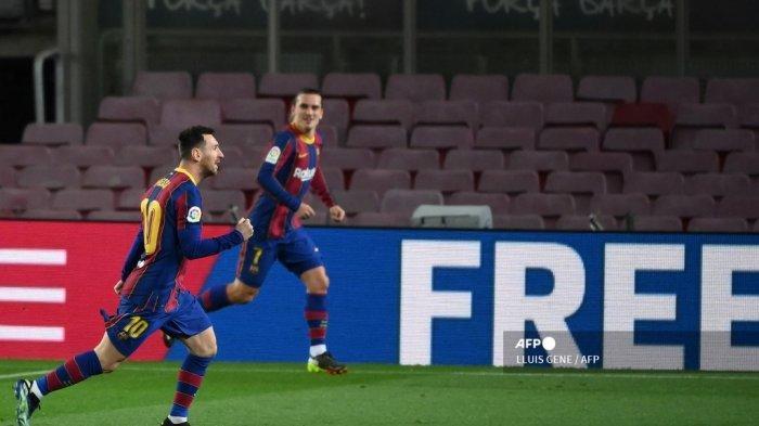 HASIL LIGA SPANYOL: Barcelona Geser Real Madrid, Messi & Griezmann jadi Pahlawan