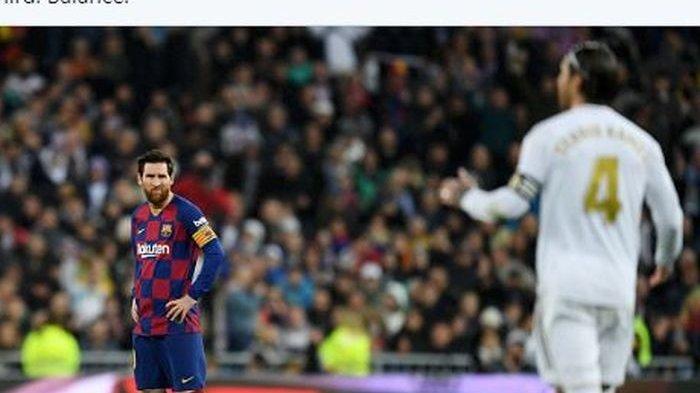Sergio Ramos Akan Tolak Perpanjang Kontrak di Real Madrid Demi Bisa Satu Tim Lionel Messi di PSG