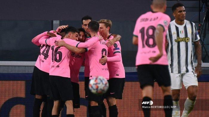 Live Streaming TV Online SCTV Barcelona vs Juventus Liga Champions, Tonton Lewat HP di Sini
