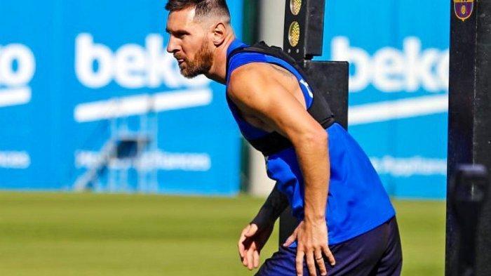 Lionel Messi Mulai Berlatih Bersama Barcelona