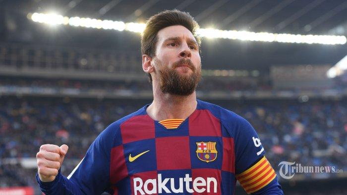 Santer Dikaitkan dengan Inter Milan, Giuseppe Marotta Klaim Lionel Messi akan Pensiun di Barcelona