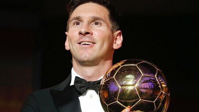 Lionel Messi Raih Penghargaan Ballon d`Or