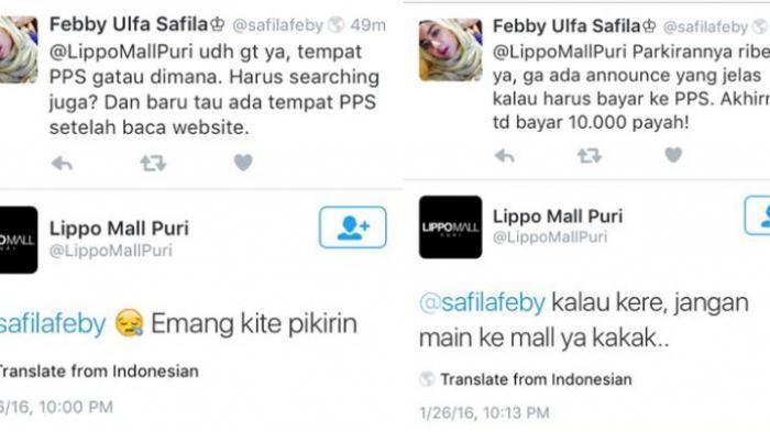 Sebut Netizen 'Kere', Akun Twitter Lippo Mall Puri Bikin Heboh di Medsos