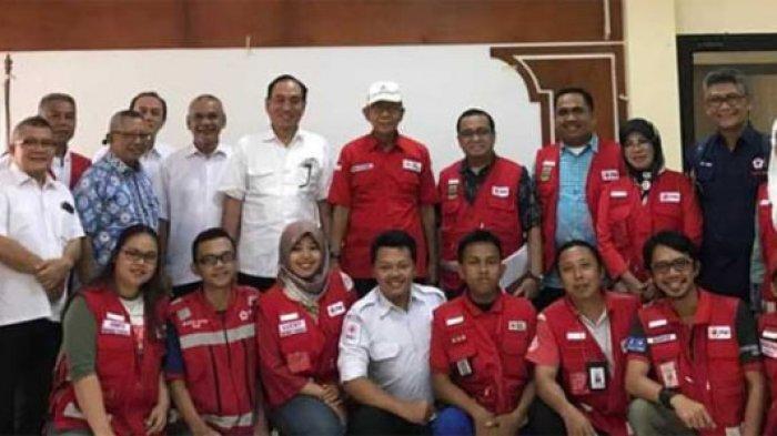 Gandeng PMI, Lippo Group Bantu Korban Bencana Tsunami Selat Sunda