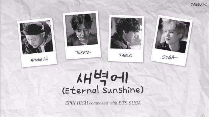 Download Lagu MP3 'Eternal Sunshine' dari Epik High dan Suga BTS, Lengkap dengan Lirik dan Video