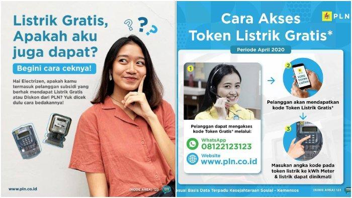 WhatsApp belum bisa diakses, kamu bisa mendapatkan token listrik PLN gratis hanya lewat situs www.pln.co.id. Simak caranya.