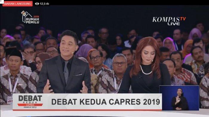Sedang Berlangsung, Live Streaming Debat Kedua Capres 2019, Youtube, Facebook, Twitter, Dailymotion