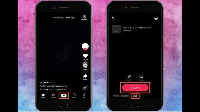 Cara Live Streaming Di Tiktok Akun Harus Memiliki Minimal 1000 Followers Tribunnews Com Mobile