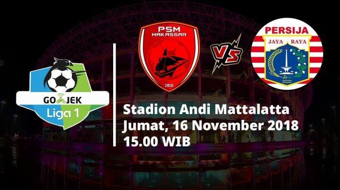 Fakta Jelang laga PSM Makassar VS Persija Jakarta sore nanti, Rapuhnya Persija hingga Rekor Terbaik