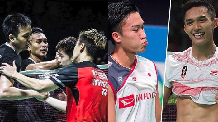 LIVE STREAMING Japan Open 2019, All Indonesian Final, Kevin Sanjaya Lawan Seniornya, Live di TVRI tonton dari HP