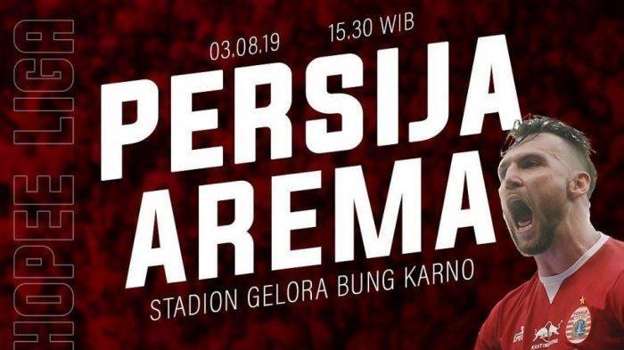 Link Live Streaming Final Piala Indonesia PSM Makassar Vs Persija Jakarta di RCTI Babak Kedua