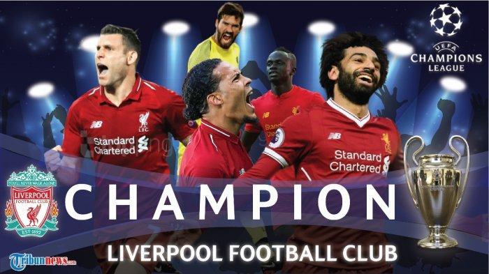 Versi Baru Chant Liverpool Usai Juara Liga Champions - We Won It 6 Times