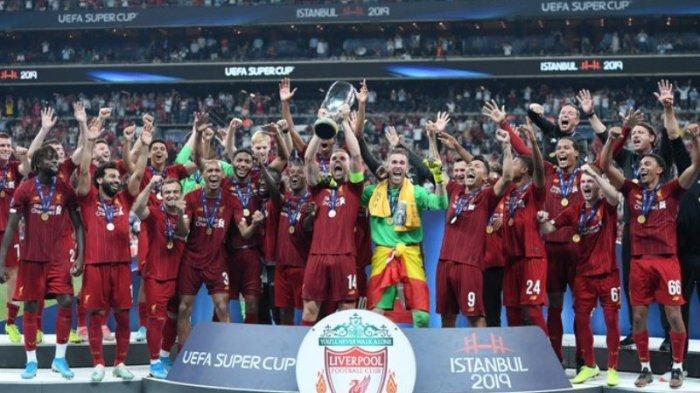 Catatan Rekor Liverpool Usai Juarai Piala Super Eropa 2019