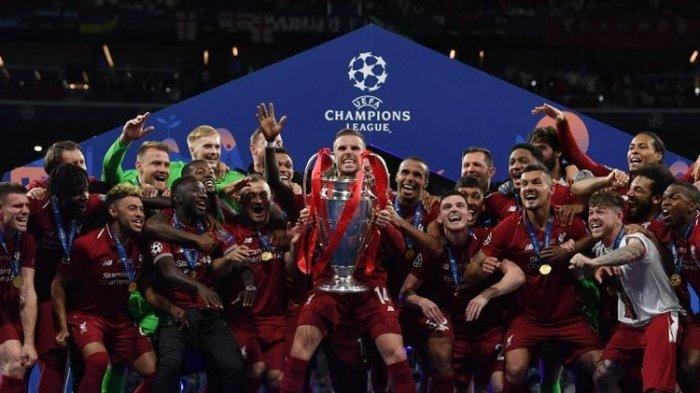 Liverpool memastikan diri menjadi juara Liga Champions 2019