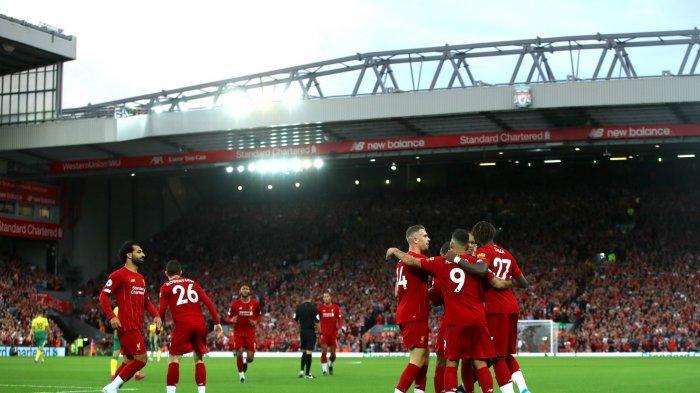 Liverpool menang atas Norwich 4-1 pada pekan pertama Liga Inggris, Sabtu (10/8/2019).