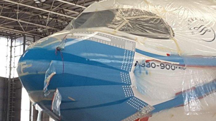 Dukung Gerakan Ayo Pakai Masker, Garuda Indonesia Luncurkan Livery Pesawat Bermasker