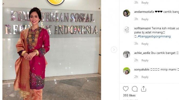Anggunnya Penampilan Istri Mensos Saat Hadiri Upacara HUT RI di Istana Merdeka