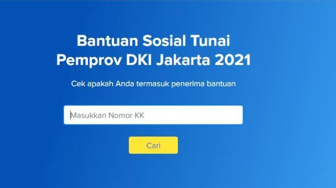 LINK CEK Bansos Tunai Rp 600 Ribu untuk Warga DKI Jakarta Cair Hari Ini, Simak Mekanisme Penyaluran