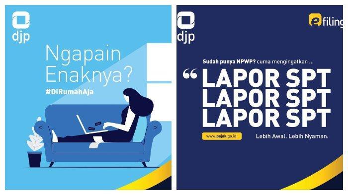 Lapor SPT Tahunan secara Online sebelum 31 Maret 2021, Buka www.pajak.go.id, Ini Panduannya